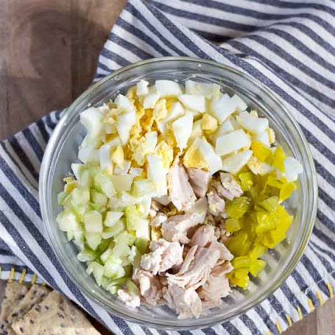 Southern Chicken Salad {no cook, gluten free}