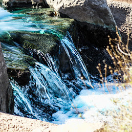 Free flowing by Dustin Wilcox - Novices Only Landscapes ( water, waterfall )