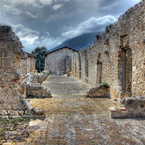 Fortress by John O'Groats - Buildings & Architecture Public & Historical ( civitella, italia, fortress, abruzzo, fortezza )