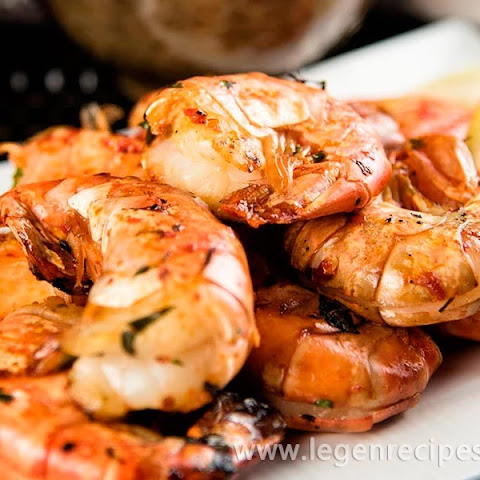 Spicy Grilled Jumbo Shrimp