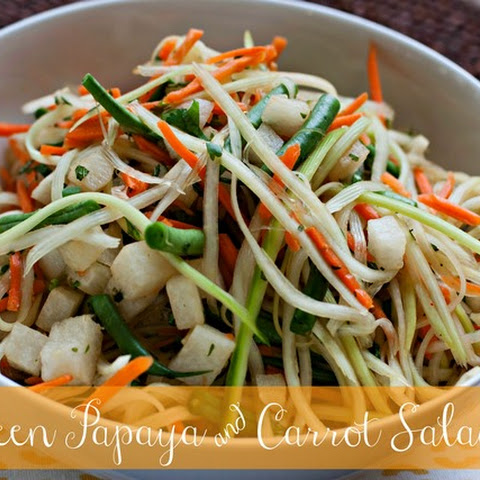 Green Papaya and Carrot Salad
