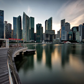 Central Business District offices and buildings by Ken Goh - Buildings & Architecture Office Buildings & Hotels