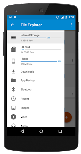 File Manager(File Explorer) - screenshot