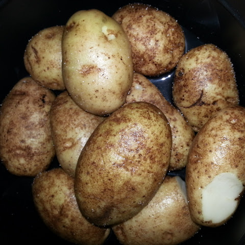 """Baked"" Potatoes from the Pressure Cooker"