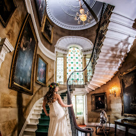 Ripley Stairs by Pete Bristo MBE  - Wedding Bride
