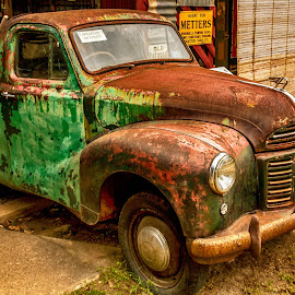 seen better days by Cora Lea - Transportation Automobiles