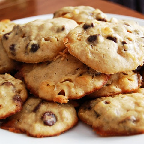 Chocolate Chip Cookies Baked With Applesauce