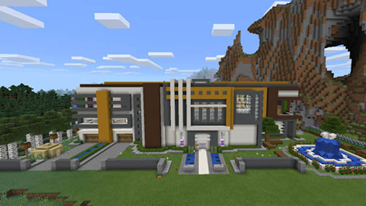 Super Mansion map for MCPE APK