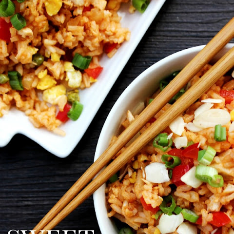 Sweet & Sour Chicken Fried Rice