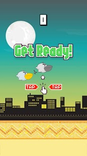 Flappy African Bird - screenshot