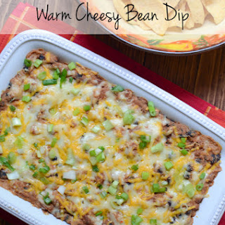 Warm Cheesy Bean Dip