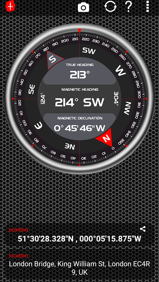 AndroiTS Compass Pro Screenshot