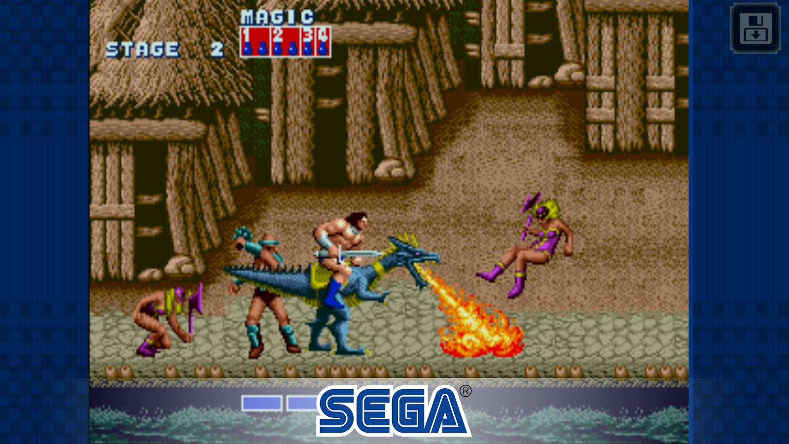 Golden Axe Classic Screenshot 2