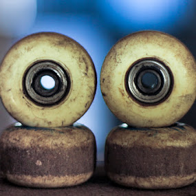 Didan's Spare Wheels by Kèn Nugraha - Products & Objects Business Objects ( skateboarding, wheels, sk8, backup )