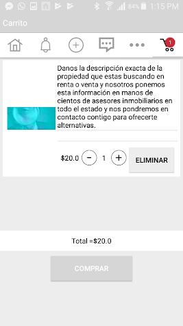 CVR Bienes Raíces Screenshot