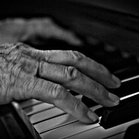 Piano Hands by Johan Niemand - People Musicians & Entertainers