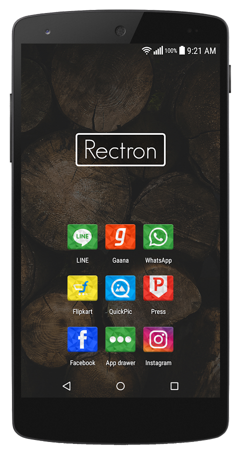 Rectron Icon Pack Screenshot 1