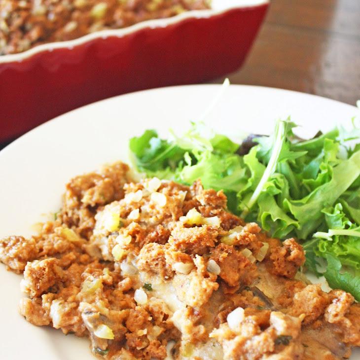 ... chicken pesto bake savory chicken and stuffing bake recipe yummly