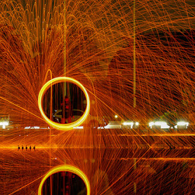 Reflections of Life by Nassery Naz - Abstract Fire & Fireworks
