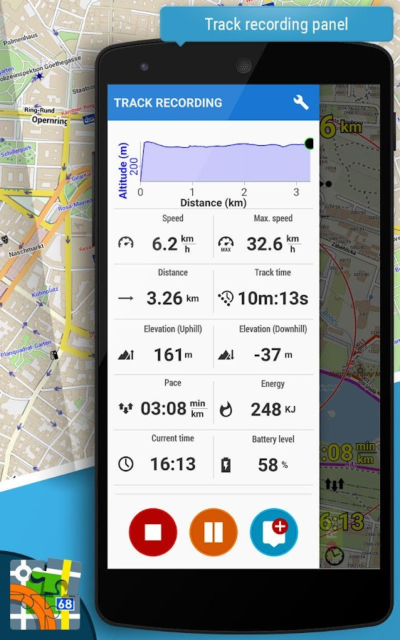 Locus Map Pro - Outdoor GPS navigation and maps Screenshot 6