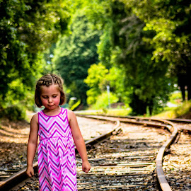 Morgan's bad day by Cindi Walters - Babies & Children Children Candids ( kiddos, children, tracks )