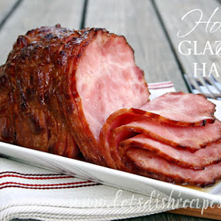 Honey Glazed Ham (Slow Cooker)