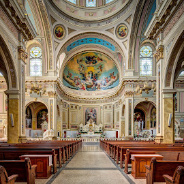 St. Mary of the Angels by John Williams - Buildings & Architecture Places of Worship ( chicago churches, architectural detail, interior architecture, catholic church, places of worship )
