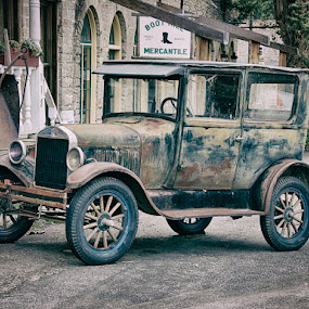 Old Car by John Klingel - Transportation Automobiles ( old car )