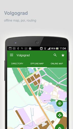 Volgograd Map offline screenshot 1