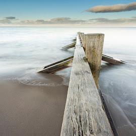 Portobello Perspective by Don Alexander Lumsden - Landscapes Waterscapes