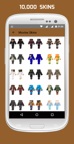 android Girl & Boy Skins for Minecraft Screenshot 0