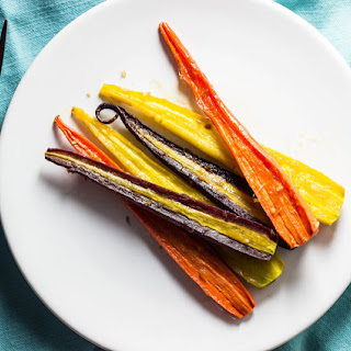 Maple Ginger Glazed Carrots