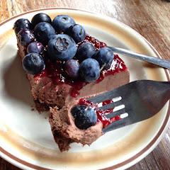 Dairy Free, Gluten Free and Vegan Chocolate Cheesecake