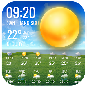 Live Weather Widget for Free For PC