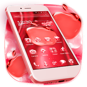 Crimson Crystal Apple for Phone X For PC