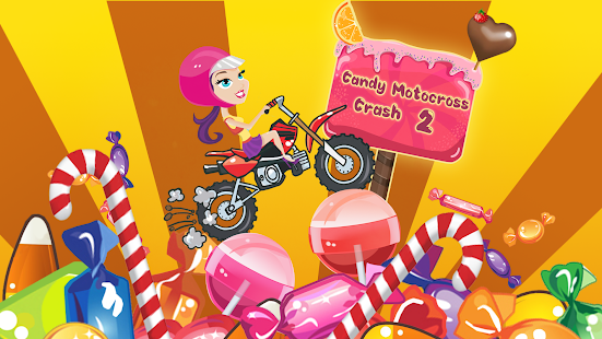 Candy Motocross Crash 2 - screenshot