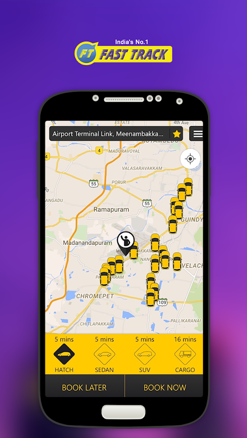 Fasttrack Taxi App Screenshot 0