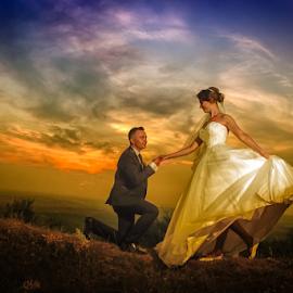 Marry Me by Vasiliu Leonard - Wedding Bride & Groom ( fotograf nunta iasi, wedding, luxmariaj, fotografii nunti, wedding photos, bride, vasiliu leonard, groom,  )