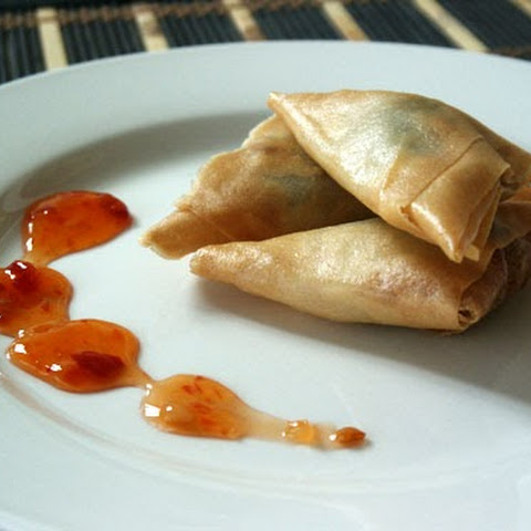 Triangle Spring Rolls