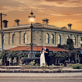 Daylesford, Victoria by Alan Evans - Wedding Bride & Groom ( aj photography, kevin )