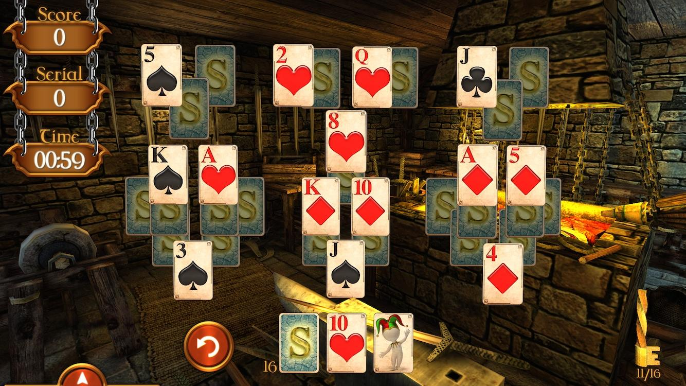 Solitaire Dungeon Escape Screenshot 12