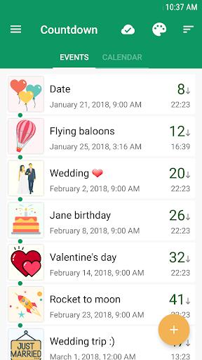 Countdown Days - App & Widget screenshot 1