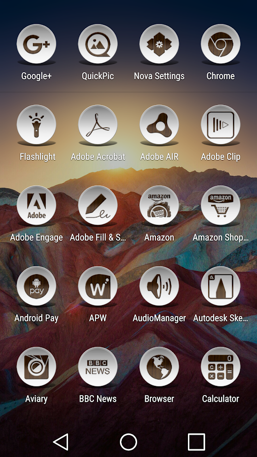 Daf Dark Wood - Icon Pack Screenshot 5