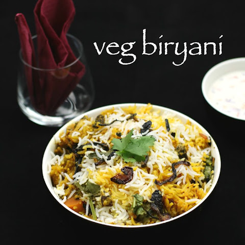 hyderabadi vegetable biryani recipe veg biryani
