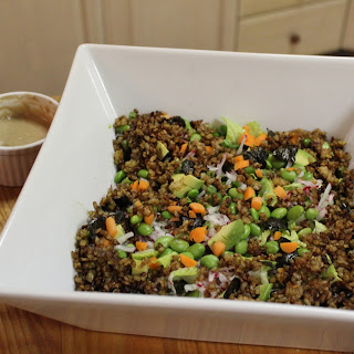 Sesame Crispy Brown Rice