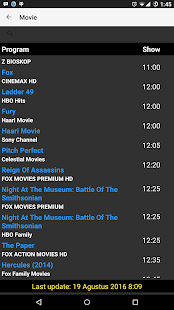 Info Jadwal TV Screenshot