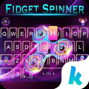 Fidget Hand Spinner Keyboard Theme For PC