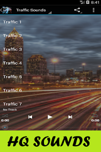 Traffic Sounds - screenshot