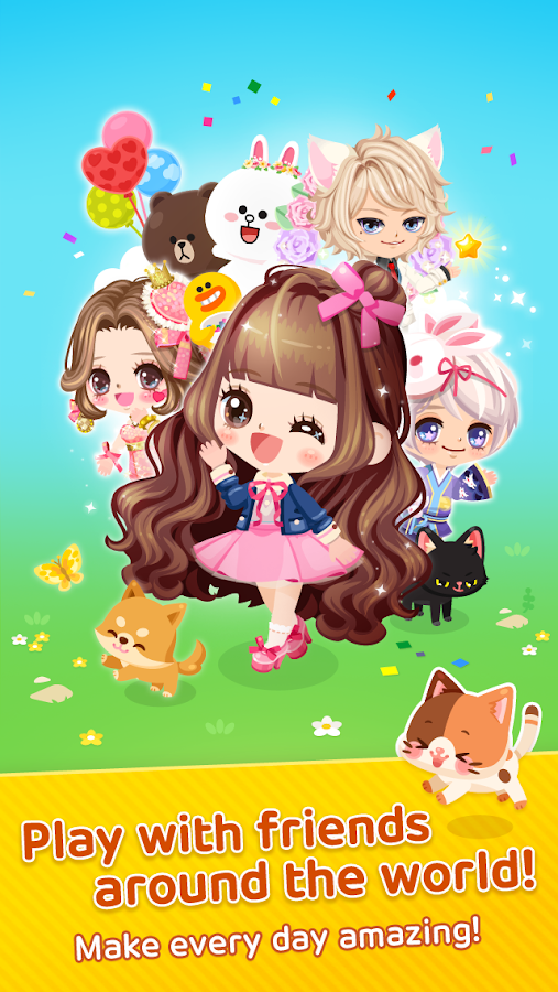 LINE PLAY - Your Avatar World Screenshot 0