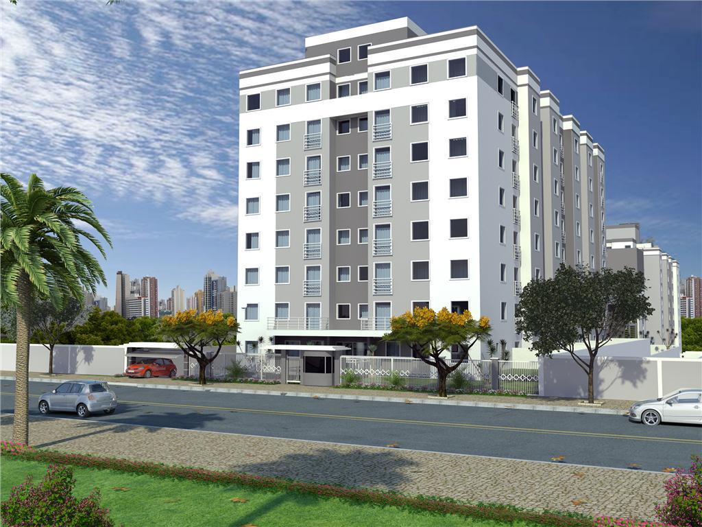Apartamento residencial à venda, Capão Raso, Curitiba.